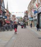 Vista de la ciudad de Salisbury foto de archivo