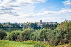 Vista de la ciudad Sussex del oeste Reino Unido de Petworth Imagen de archivo