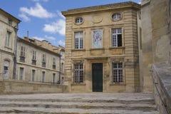 Vista de la ciudad vieja Avignon (Francia) imágenes de archivo libres de regalías