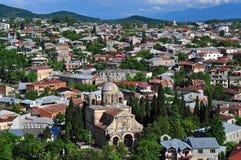 Vista de la ciudad vieja de Kutaisi Imagenes de archivo