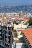 Vista de la ciudad vieja de Niza, Francia Fotografía de archivo libre de regalías