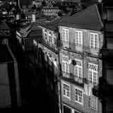 Vista de la ciudad vieja de Oporto, Portugal Foto de archivo