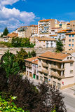 Vista de la ciudad vieja de Teruel, Aragón Imagen de archivo libre de regalías