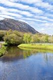 Vista de la colina del dimond en el connemara, Irlanda. Imagen de archivo