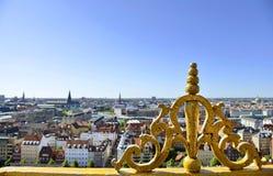 Vista de la Copenhague, Dinamarca fotos de archivo libres de regalías