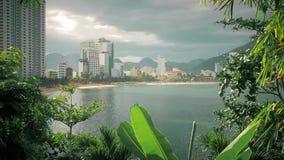 Vista de la costa metrajes