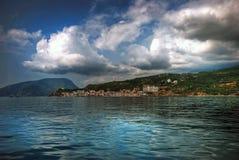 Vista de la costa Foto de archivo