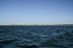 Vista de la costa Darlowek Foto de archivo