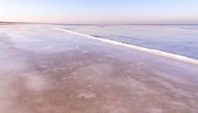 Vista de la costa en invierno Fotografía de archivo libre de regalías