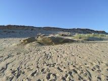 Vista de la duna de la migaja Imagen de archivo
