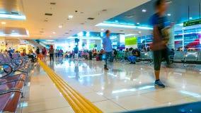 Vista de la estación de autobúses en Kuala Lumpur imagenes de archivo