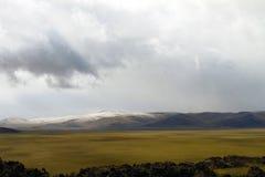 Vista de la estepa de Chuya Foto de archivo