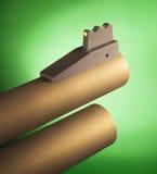 Vista de la fibra óptica de la escopeta Imagen de archivo libre de regalías