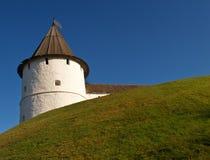 Vista de la fortaleza del Kremlin, Kazán Imagenes de archivo
