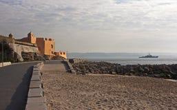 Vista de la fortaleza del S. Joao das Maias Imágenes de archivo libres de regalías
