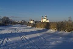 Vista de la iglesia foto de archivo libre de regalías