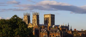 Vista de la iglesia de monasterio de York Fotografía de archivo