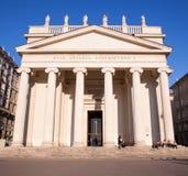 Vista de la iglesia del St Antonio en Trieste Imágenes de archivo libres de regalías