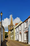 Vista de la iglesia del St Maria, Tenby Foto de archivo libre de regalías