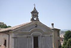 Vista de la iglesia de Domenicane del delle de Santa Croce foto de archivo