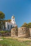 Vista de la iglesia ortodoxa Foto de archivo