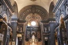 Vista de la iglesia de San Cayetano foto de archivo libre de regalías