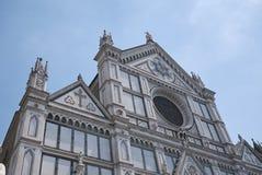 Vista de la iglesia de Santa Croce fotografía de archivo libre de regalías