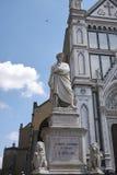 Vista de la iglesia de Santa Croce imagen de archivo