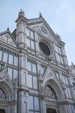 Vista de la iglesia de Santa Croce imágenes de archivo libres de regalías