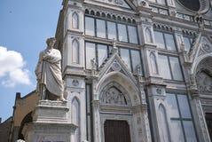 Vista de la iglesia de Santa Croce foto de archivo libre de regalías