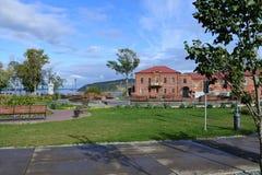 Vista de la isla Imágenes de archivo libres de regalías