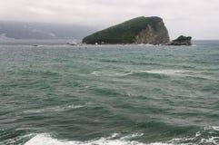 Vista de la isla imagenes de archivo
