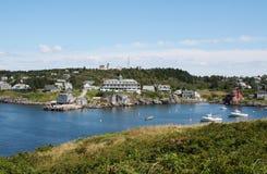 Vista de la isla de Monhegan Imagen de archivo libre de regalías