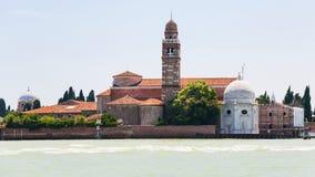 Vista de la isla de San Micaela en la ciudad de Venecia Fotografía de archivo libre de regalías