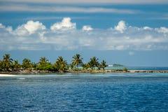 Vista de la isla maldiva del ` s Fotografía de archivo libre de regalías