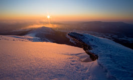 Vista de la mañana Foto de archivo libre de regalías
