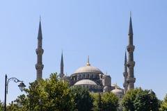 Vista de la mezquita azul Sultanahmet Camii en Estambul, Turquía Imagen de archivo libre de regalías
