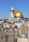 Vista de la mezquita de Aqsa del Al Foto de archivo libre de regalías