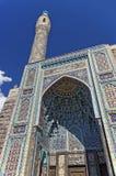 Vista de la mezquita de la catedral en St Petersburg, Rusia El mosaico adornó la entrada Imagen de archivo