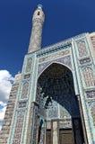 Vista de la mezquita de la catedral en St Petersburg, Rusia El mosaico adornó la entrada Fotos de archivo libres de regalías