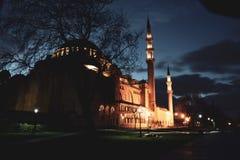 Vista de la mezquita majestuosa de Suleymaniye, Estambul Turquía Fatih, señal foto de archivo libre de regalías