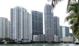 Vista de la Miami céntrica, la Florida fotos de archivo