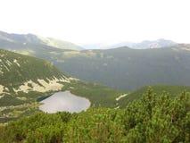 Vista de la montaña Fotos de archivo libres de regalías