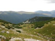 Vista de la montaña Fotos de archivo