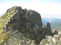 Vista de la montaña Imagen de archivo libre de regalías