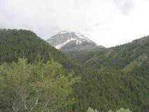 Vista de la montaña de Utah Imágenes de archivo libres de regalías