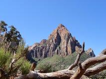 Vista de la montaña de Utah Fotos de archivo