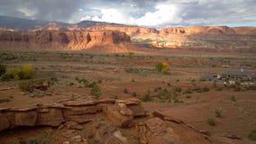 Vista de la montaña de Utah Fotografía de archivo libre de regalías