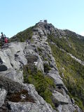 Vista de la montaña de Whiteface, montañas de Adirondack Foto de archivo libre de regalías