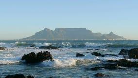 Vista de la montaña del vector, Suráfrica almacen de video